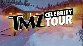TMZ Celebrity Tour TV Spot, 'Holidays: Free Santa Hat' - Thumbnail 6