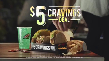 Taco Bell $5 Cravings Deal TV Spot, 'Start Up' - Thumbnail 6