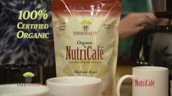 EnerHealth NutriCafe TV Spot, 'The Organic Immune Supporting Coffee' - 46 commercial airings