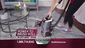 Shark Rotator Powered Lift-Away TV Spot, 'Holidays: Allergens'