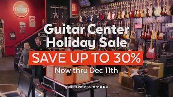 Guitar Center Holiday Sale TV Spot, 'Holiday Kick-Off' - Thumbnail 10