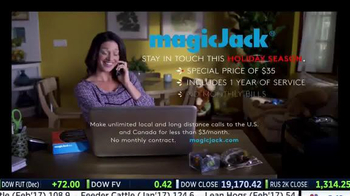 magicJack 2016 Holiday Price TV Spot, 'The Perfect Gift'