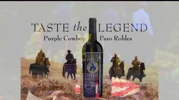 Purple Cowboy TV Spot, 'The Legend of the Purple Cowboys' - Thumbnail 10
