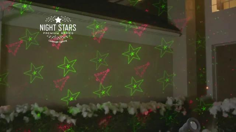 bed bath beyond tv commercial night stars laser lights ispottv - Bed Bath And Beyond Christmas Decorations