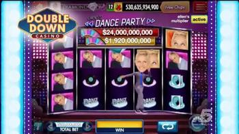 DoubleDown Slots & Casino TV Spot, 'The Ellen DeGeneres Show' - Thumbnail 7