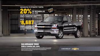 Chevrolet Etiqueta de Bono TV Spot, 'Silverado 1500' [Spanish] - Thumbnail 4