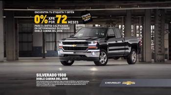 Chevrolet Etiqueta de Bono TV Spot, 'Silverado 1500' [Spanish] - Thumbnail 5