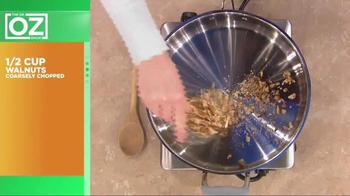 California Walnuts TV Spot, 'Dr. Oz: Holiday Recipe' - Thumbnail 4