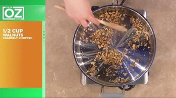 California Walnuts TV Spot, 'Dr. Oz: Holiday Recipe' - Thumbnail 5