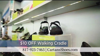 Cartan's Shoes TV Spot, 'Walking Cradle' - Thumbnail 9