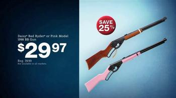 Bass Pro Shops Holiday Sale TV Spot, 'Ammo, BB Gun and Fleece Combo' - Thumbnail 8