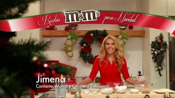M&M's TV Spot, 'Univision: galletas navideñas' con Jimena Gállego [Spanish] - Thumbnail 1