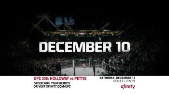 XFINITY TV Spot, 'UFC 206: Holloway vs. Pettis' Song by Korn - Thumbnail 1
