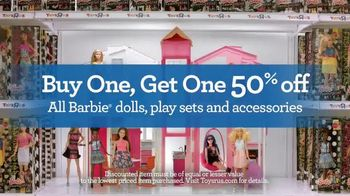 Toys R Us TV Spot, 'Barbie is Too Excited' - 719 commercial airings