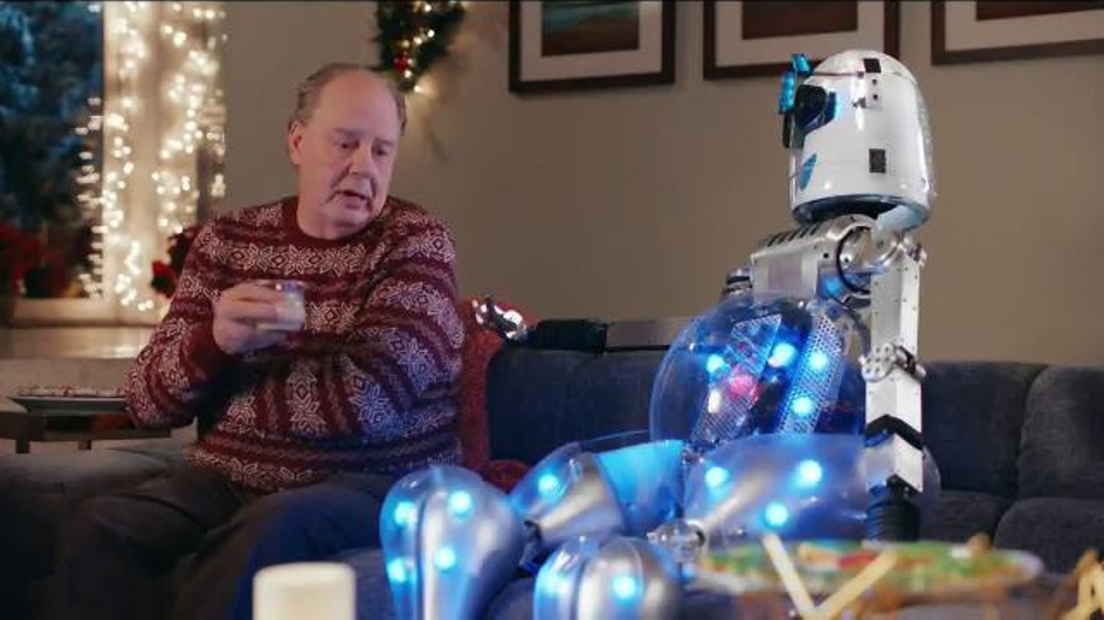 best buy apple shop tv commercial robot ispottv - Best Buy Christmas Eve