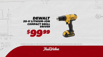 True Value Hardware TV Spot, 'Drill Driver, Flashlight & Fire Pit' - Thumbnail 2