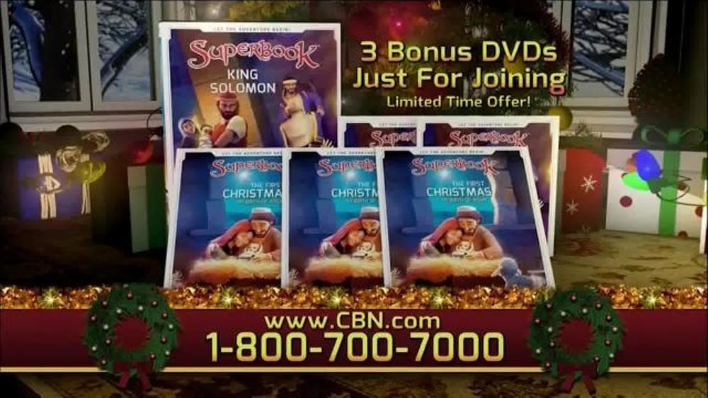 CBN Superbook: King Solomon TV Commercial, 'Wisdom'