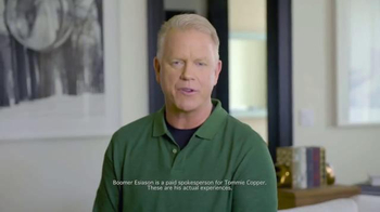 Tommie Copper TV Spot, 'Holidays: Better Life' Feat. Boomer Esiason - Thumbnail 2