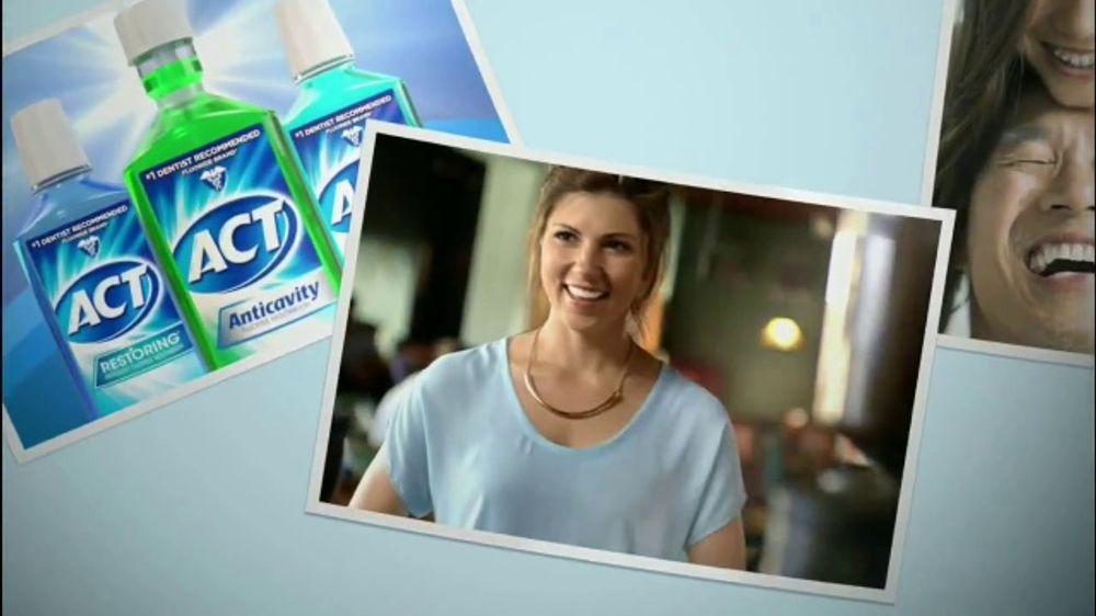 ACT Fluoride Advanced Care TV Spot, Escudo invisible