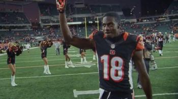 NFL Shop TV Spot, 'Pittsburgh in December: 25 Percent Off' Feat. A.J. Green - Thumbnail 1
