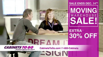 Cabinets To Go Moving Warehouse Sale TV Spot, 'Big Savings for You'