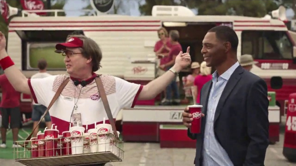 Dr Pepper TV Commercial, 'College Football: Road Trip' Featuring Marcus Allen