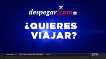 Despegar.com Sale TV Spot, 'Vuelos, hoteles y paquetes' [Spanish] - Thumbnail 1