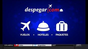 Despegar.com Sale TV Spot, 'Vuelos, hoteles y paquetes' [Spanish]