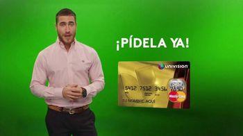 Univision Tarjeta TV Spot, 'Obtén tu tarjeta' [Spanish]