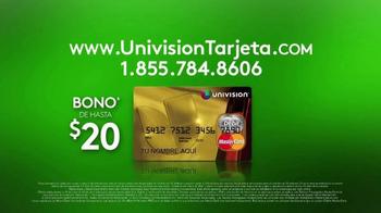 Univision Tarjeta TV Spot, 'Obtén tu tarjeta' [Spanish] - Thumbnail 8