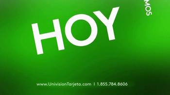 Univision Tarjeta TV Spot, 'Obtén tu tarjeta' [Spanish] - Thumbnail 3