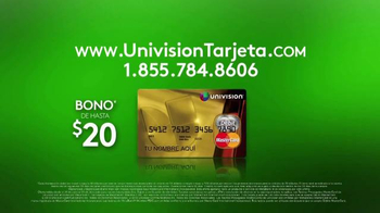 Univision Tarjeta TV Spot, 'Obtén tu tarjeta' [Spanish] - Thumbnail 7