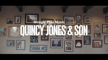 Google Play TV Spot, 'Rooted in Music: Quincy Jones and Son' Song by 2Pac - 6 commercial airings