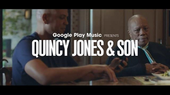 Google Play Music TV Spot, 'Quincy Jones & Son' Song by Kendrick Lamar - 7 commercial airings