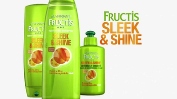 Garnier Fructis Sleek & Shine TV Spot, 'Stronger' Song by POWERS - Thumbnail 7