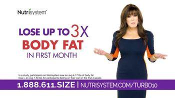 Nutrisystem Turbo10 TV Spot, 'Feel Good' Featuring Marie Osmond - 104 commercial airings