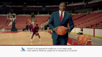 Victoza TV Spot, 'Moment of Truth' Featuring Dominique Wilkins - Thumbnail 4