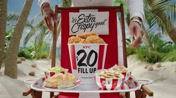 KFC TV Spot, 'Lifestyle' Featuring George Hamilton - Thumbnail 8