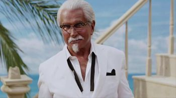 KFC TV Spot, 'Lifestyle' Featuring George Hamilton - Thumbnail 1