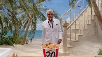 KFC TV Spot, 'Lifestyle' Featuring George Hamilton - Thumbnail 3