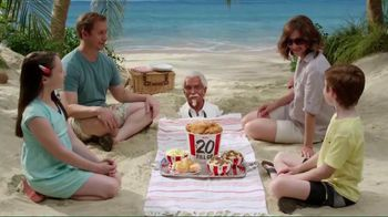 KFC $20 Family Fill Up TV Spot, 'Fun in the Sun' Featuring George Hamilton - 7188 commercial airings