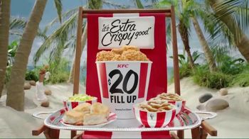KFC $20 Family Fill Up TV Spot, 'Fun in the Sun' Featuring George Hamilton - Thumbnail 9