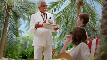 KFC TV Spot, 'Extra Crispy Boy' Featuring George Hamilton - Thumbnail 3
