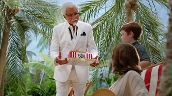 KFC TV Spot, 'Extra Crispy Boy' Featuring George Hamilton - Thumbnail 4