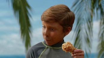 KFC TV Spot, 'Extra Crispy Boy' Featuring George Hamilton - Thumbnail 8
