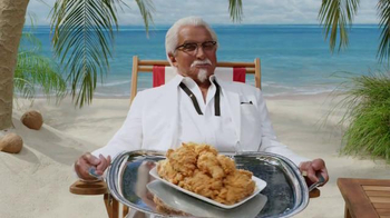 KFC $5 Fill Up TV Spot, 'Tray' Featuring George Hamilton - Thumbnail 2