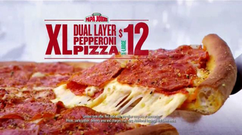 Papa John's Dual Layer Pepperoni TV Spot, 'Ghostbusters: Best Customer' - Thumbnail 8