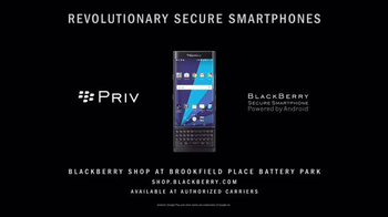 BlackBerry PRIV TV Spot, 'Secure Smartphone Powered by Android' - Thumbnail 6