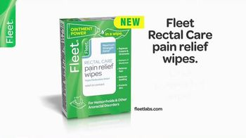 Fleet Rectal Care Pain Relief Wipes TV Spot, 'Strength and Convenience'