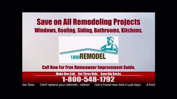 1-800-Remodel TV Spot, 'Would You Rather?' - Thumbnail 4